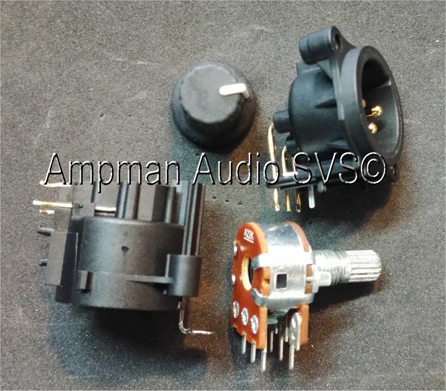 RCF basic analogue amplifier repair kit