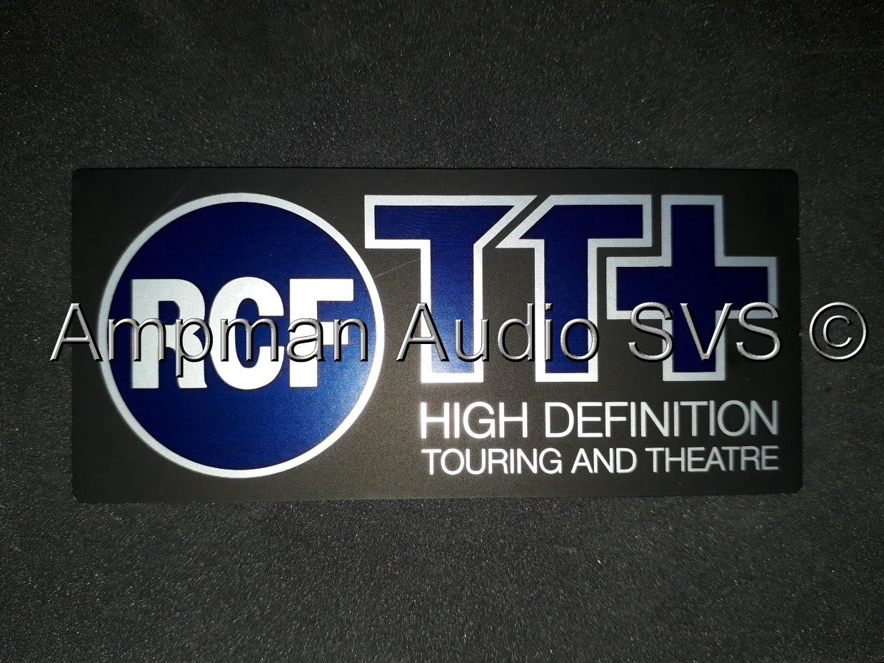 Rcf Tt Logo For Grille Ampman Audio Services Rcf Lab