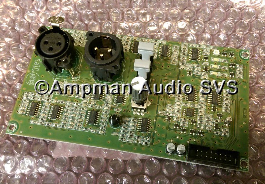 RCF TT22A Mk1 input card